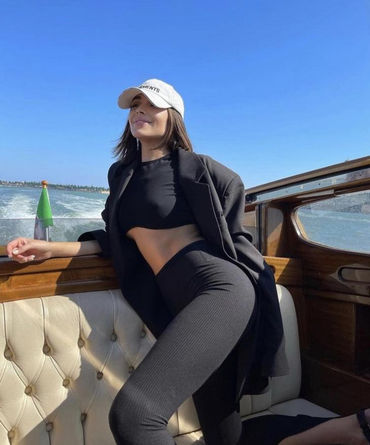 Фото №4 - Вещи какого российского бренда выбирает для путешествий Мисс Вселенная Оливия Калпо