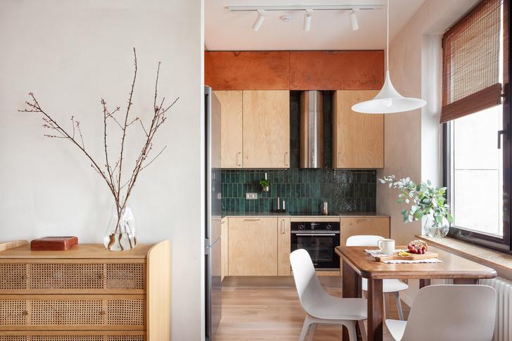 Фото №2 - Квартира в скандинавском стиле с печью