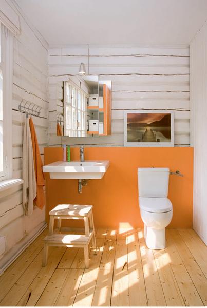 Фото №5 - Ванная в загородном доме: дизайн-проект