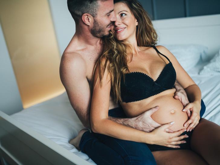 Фото №1 - Неловкое положение: 5 причин заниматься сексом во время беременности (и 5 причин воздержаться)