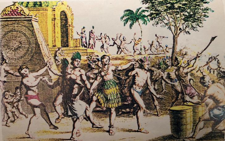 Фото №1 - Экзотические сексуальные обычаи древних ацтеков