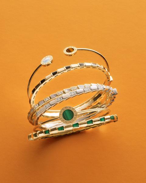 Фото №4 - Выигрышная комбинация: марка Bvlgari представила три коллекции браслетов