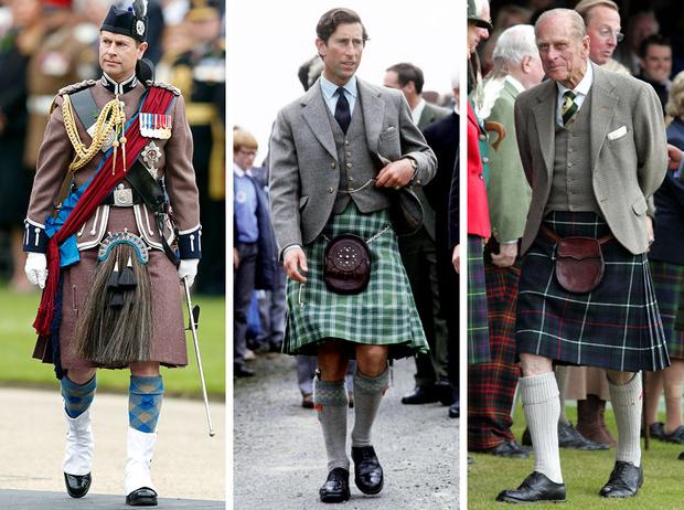 Фото №1 - Дресс-код королевских мужчин: как килты оказались в гардеробе Виндзоров