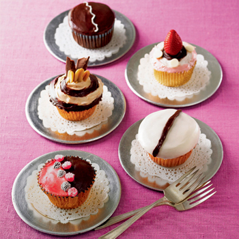 Шоколадные cupcakes