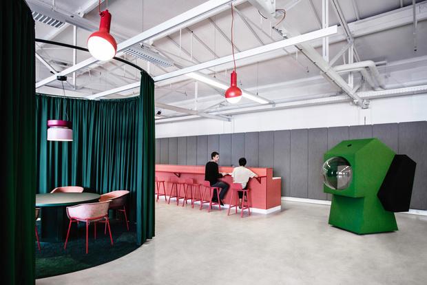 Фото №2 - Яркий офис-трансформер в Берлине