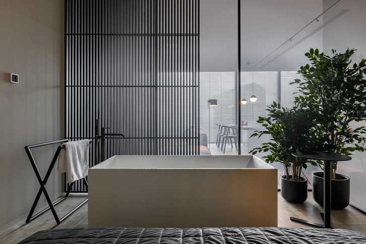 Фото №11 - Апартаменты в аренду со стеклянной спальней