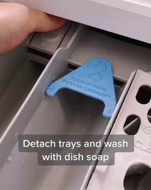 Фото №4 - Как и зачем чистить стиральную машину: лайфхак от мамы-блогера