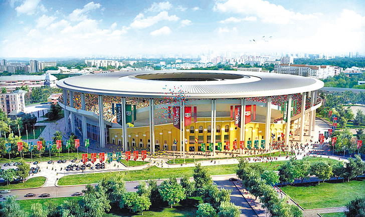 Проект Центрального стадиона в Екатеринбурге, фото