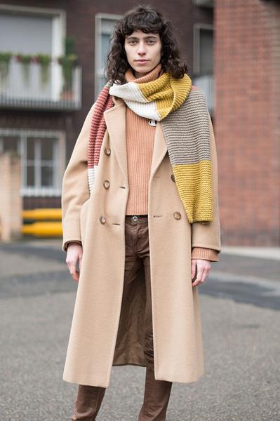 Зимний шарф: как носить