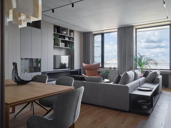 Фото №2 - Московская квартира 200 м² в нейтральных тонах