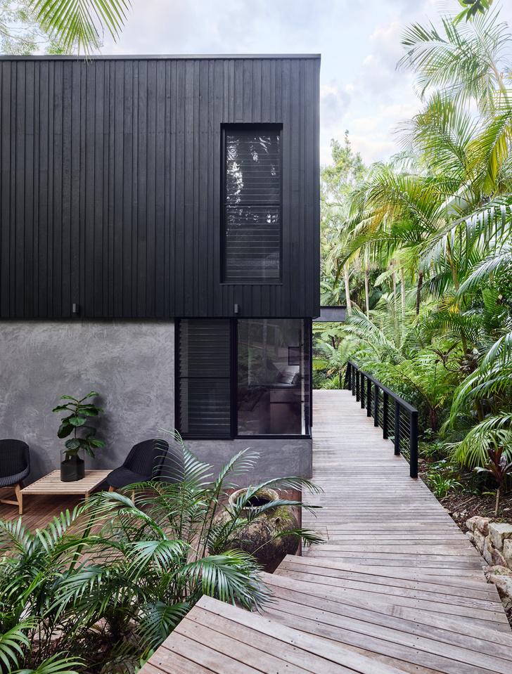 Фото №2 - Утопающий в зелени дом в Австралии