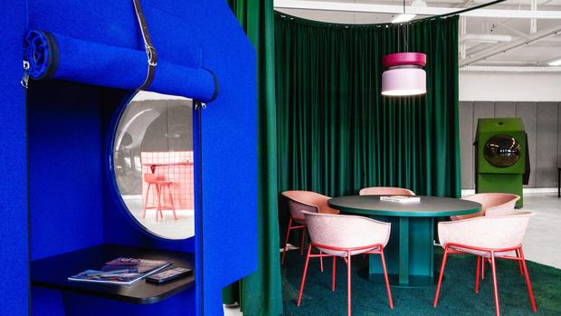 Фото №1 - Яркий офис-трансформер в Берлине