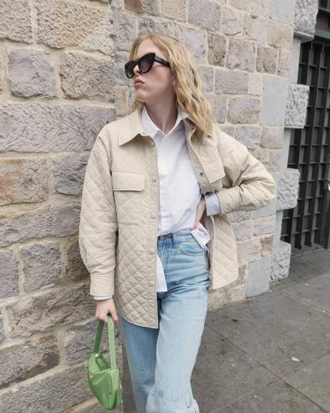 Фото №8 - Тренд весны 2021: стеганые куртки-рубашки