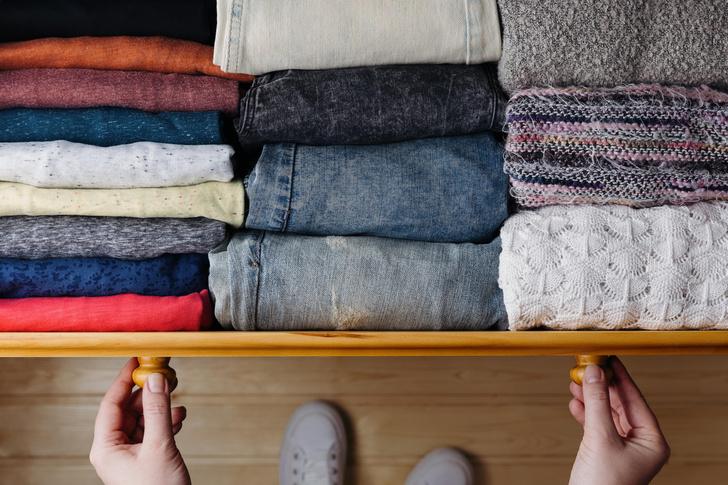 Фото №5 - Как спастись от ненужной одежды: специалист по организации пространства выдает явки и пароли