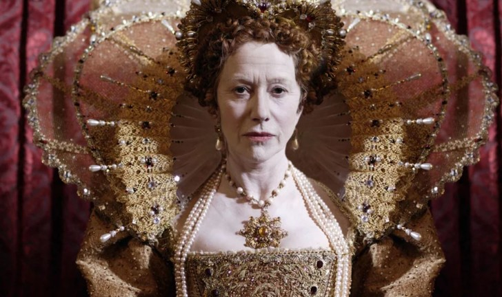 Хелен Миррен / Фото:    кадр из фильма «Елизавета I»