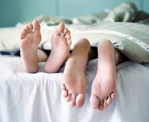 Фото №1 - Никогда не выходите замуж за человека, который умеет шевелить мизинцами на ногах