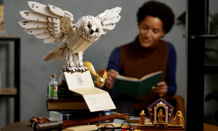Фото №2 - LEGO выпустили набор в честь 20-летия киновселенной «Гарри Поттера» 🦉