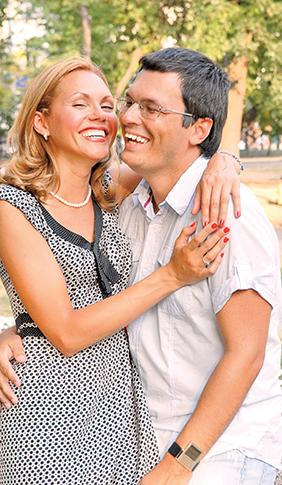 Татьяна Ремизова с мужем Дмитрием: фото