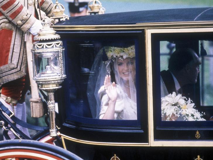 Фото №4 - Свадебный переполох: как Диана «спасла» венчание Сары Фергюсон и принца Эндрю