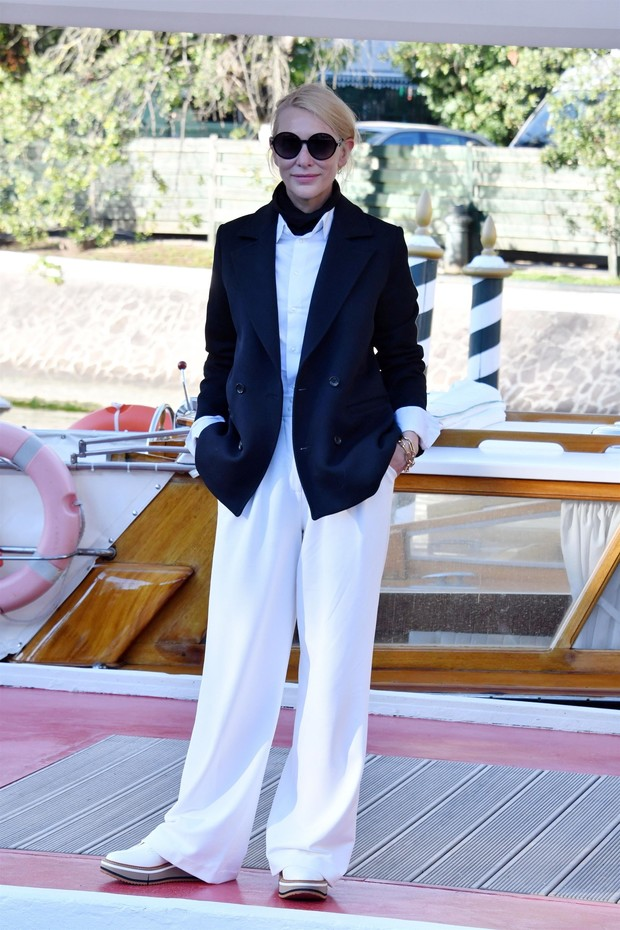 Фото №1 - Нарушая запреты: все образы Кейт Бланшетт на Венецианском кинофестивале