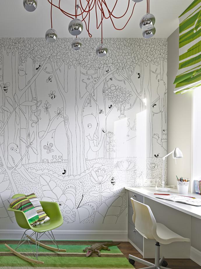 Фото №15 - Зеленый цвет в интерьере: советы по декору