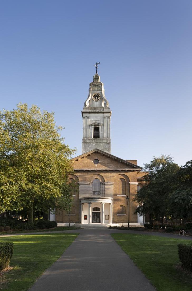 Фото №9 - Джон Поусон провел реконструкцию церкви Святого Иоанна в Хакни