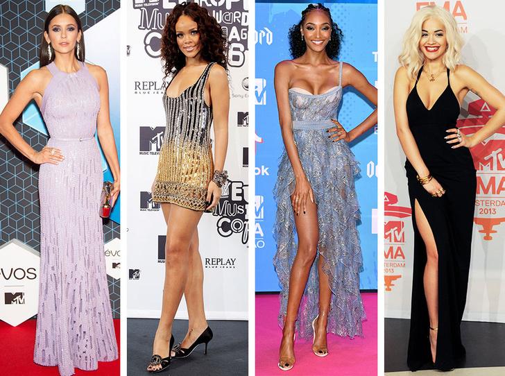 Фото №1 - Премия MTV EMA: лучшие звездные образы за всю историю