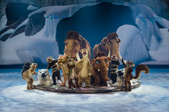 Фото №1 - Мамонты в Москве! Шоу «Ледниковый период Live!» пройдет в столице