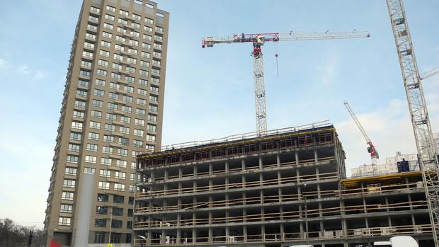 Фото №1 - В Центробанке спрогнозировали увеличение объемов строительства жилья