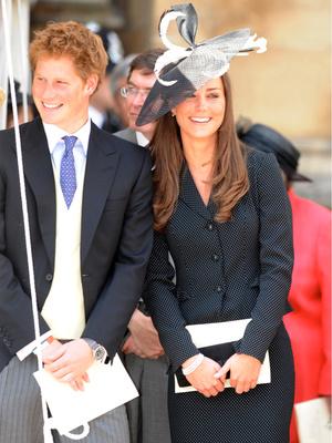 Фото №3 - Особая связь: самые трогательные и забавные фото Гарри и Кейт