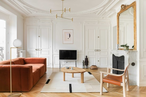 Фото №1 - Парижская квартира в стиле джапанди