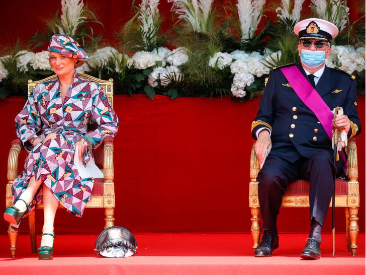 Фото №5 - Самая яркая принцесса Европы: первый официальный выход внебрачной дочери короля Бельгии