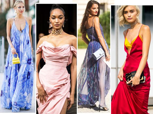 Фото №1 - Пайетки, вырезы и яркие цвета: самые модные наряды для выпускного-2021