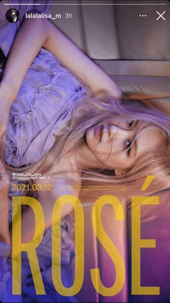 Фото №4 - Розэ из BLACKPINK объявила дату выхода своего соло 🤩