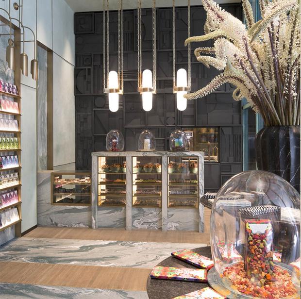 Фото №9 - Шоколадная фабрика: кондитерская Compartes по дизайну Келли Уэстлер
