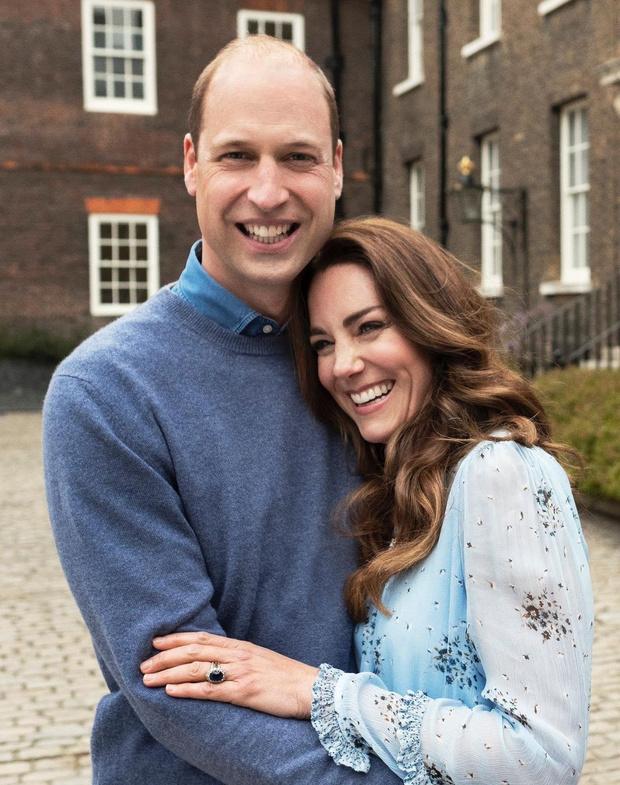 Фото №1 - «Я люблю тебя до слез»: новые фотографии Кейт Миддлтон и принца Уильяма в честь годовщины свадьбы