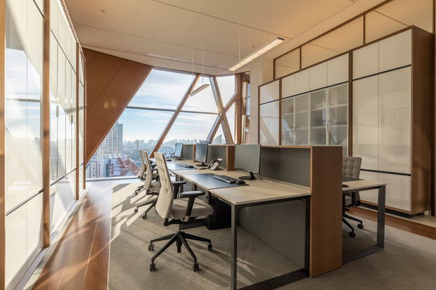 Фото №8 - Офисное здание по проекту Foster+Partners в Екатеринбурге