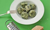 Ньокки со шпинатом