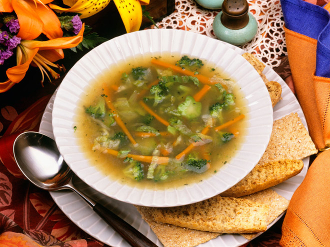 Рецепт любимого овощного супа от Ляйсан Утяшевой