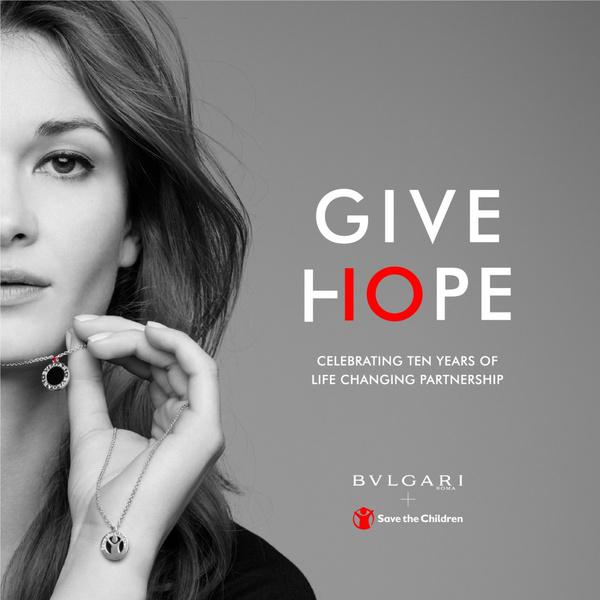 Фото №3 - Бренд Bvlgari представил новое украшение для благотворительной коллекции Save the Children