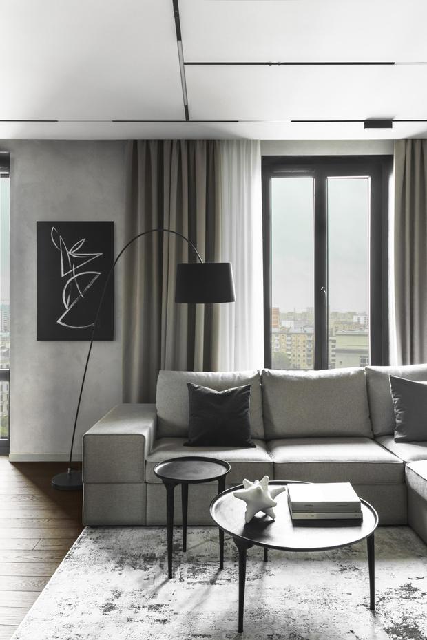 Фото №2 - Лаконичная квартира 80 м² для отца и сына в Москве