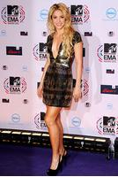 Шакира на MTV EMA