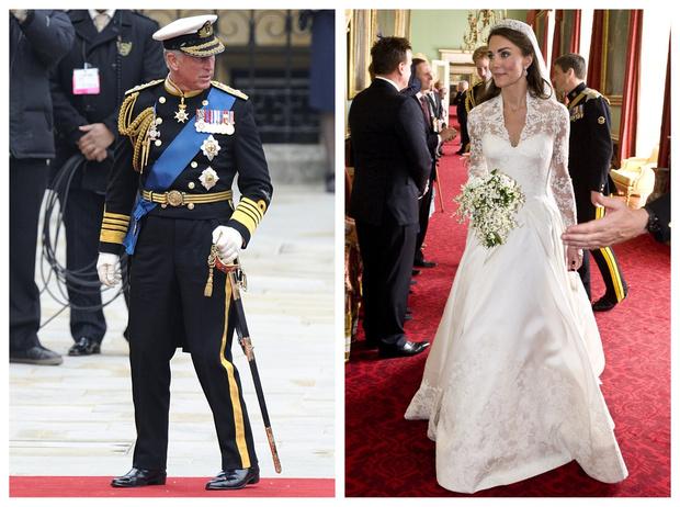 Фото №1 - «Дочь, которой у меня не было»: трогательная речь Чарльза на свадьбе Кейт и Уильяма