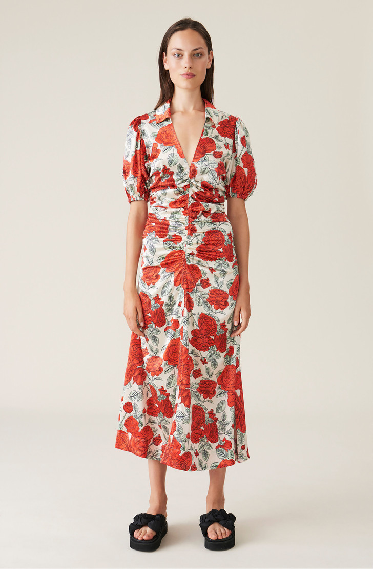 Фото №8 - Летом всем нам нужно платье в цветочек. Вот 20 нежных вариантов