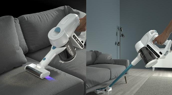 Беспроводной пылесос Polaris c УФ-лампой: дезинфекция дома и без усилий