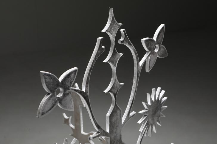 Фото №3 - Ornamentum: коллекция ажурной мебели из алюминия