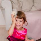 Ульяна Кузнецова, 4 года, г. Волгоград. Наряжаться - любимое занятие))))