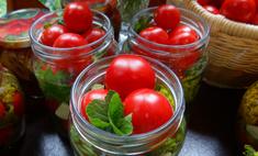 Бабушкин рецепт: маринованные помидоры в литровых банках