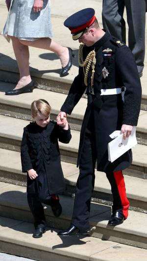 Фото №4 - Самые важные гости: маленькие Виндзоры на королевских свадьбах