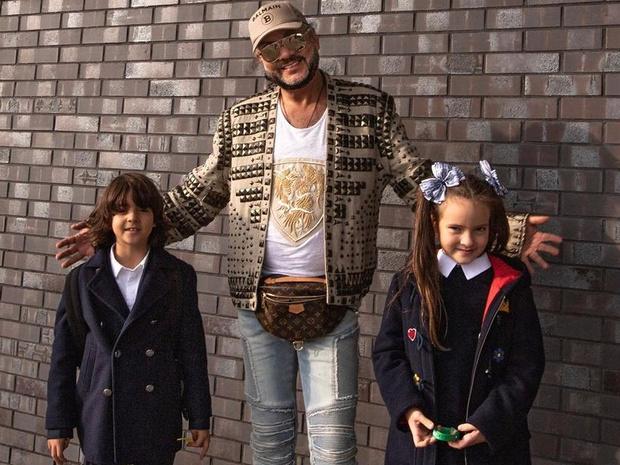 Филипп Киркоров показал, на кого на самом деле похожи его дети